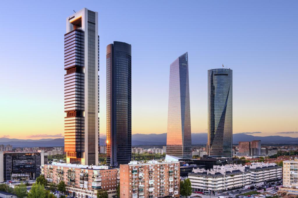 Madrid, quartier d'affaires